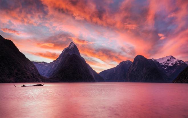 thumb2-milford-sound-4k-sunset-ocean-new-zealand.jpg
