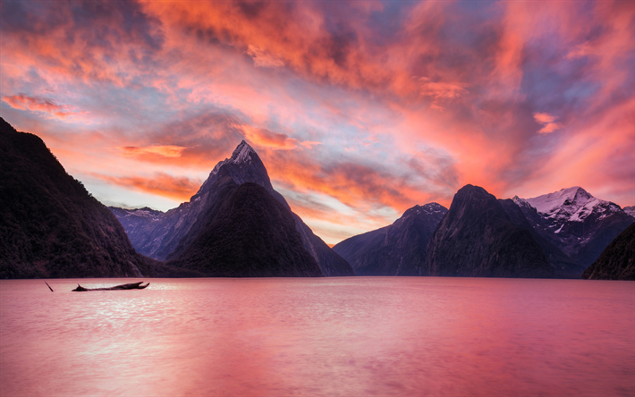 thumb2-milford-sound-4k-sunset-ocean-new-zealand.jpg